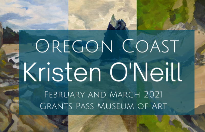 wOregon Coast Postcard