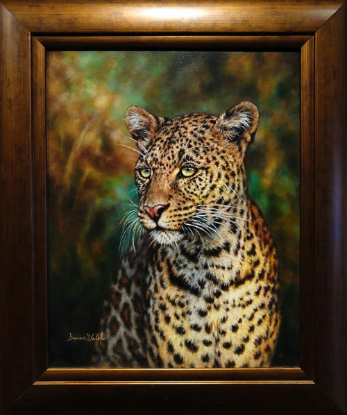 Leopard Donna Walsh